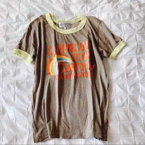 NEW! RARE! WILDFOX HIKED THE CANYON GRAPHIC TEE XS
